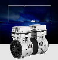 550W/600W/750W silent air compressor head silent air pump painting woodworking dental accessories air pump pump head motor