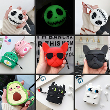 Headset-Case Funda Earphone Silicon-Cover Huawei Freebuds for 3-case/Fashion/Funny/Cartoon-pattern
