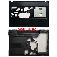 New Laptop Case cover For Lenovo G570 G575 Palmrest cover Upper Case and Bottom Case Cover With/Without HDMI