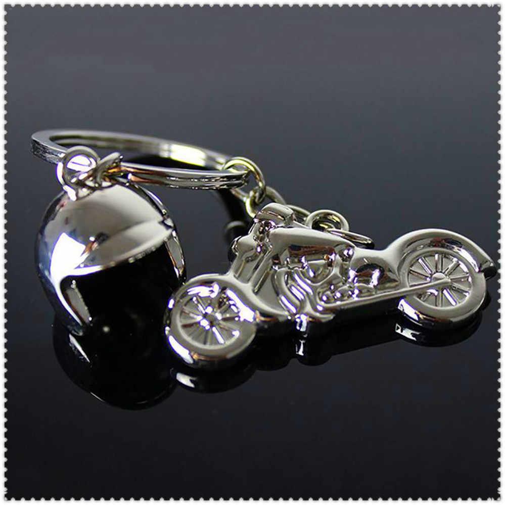 Classique 3d moto casque alliage porte-clés porte-clés clé chaîne pour Ducati 800SS 800 Supersport 900SS 900 Sport 916 S4 S4R
