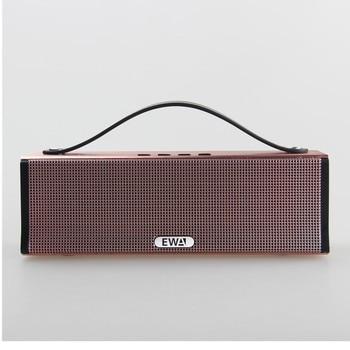 EWA D560 High Power Big Sound and Bass Portable Bluetooth Speaker rose gold