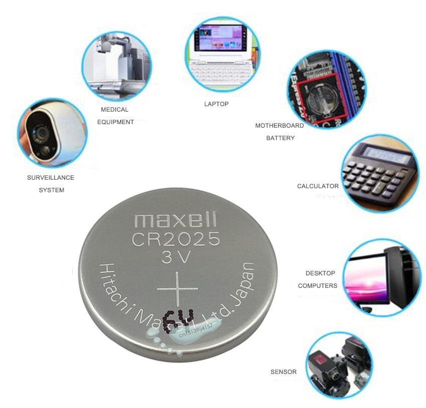 Поставщики, 100 шт. высокая производительность CR2025 литиевая батарея таблеточного типа для Батарея DL2025 BR2025 KCR2025 монета Батарея 3V CR 2025