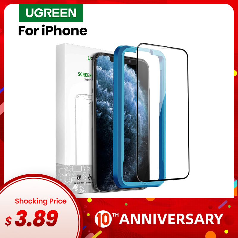 Ugreen Protective Glass For IPhone 11 Pro Max 2019 New Screen Protector HD Clear Full Coverage Glass On IPhone 11 Pro Max Glass