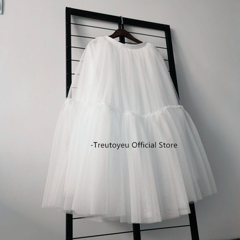 15 colors Maxi Long Luxury Soft Tulle Skirt Black Pleated Tutu Skirts Womens Vintage Petticoat lange rok jupes falda 1