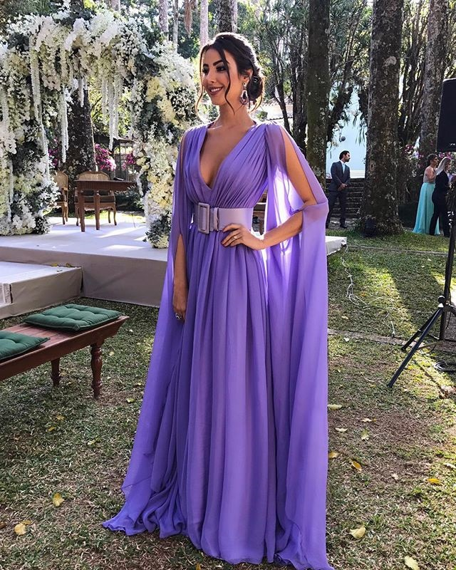 2019 Europe And America Summer New Style WOMEN'S Dress Hot Selling Sexy Deep V Waist Hugging Formal Dress Long Skirts