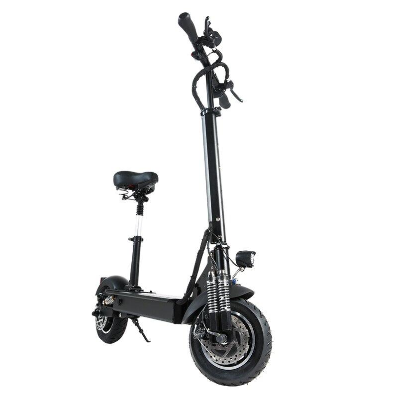 [EU Direct] Janobike 2000W double moteur 23.4Ah 10 pouces Scooter électrique pliant avec siège 70 km/h vitesse Max 80km kilométrage