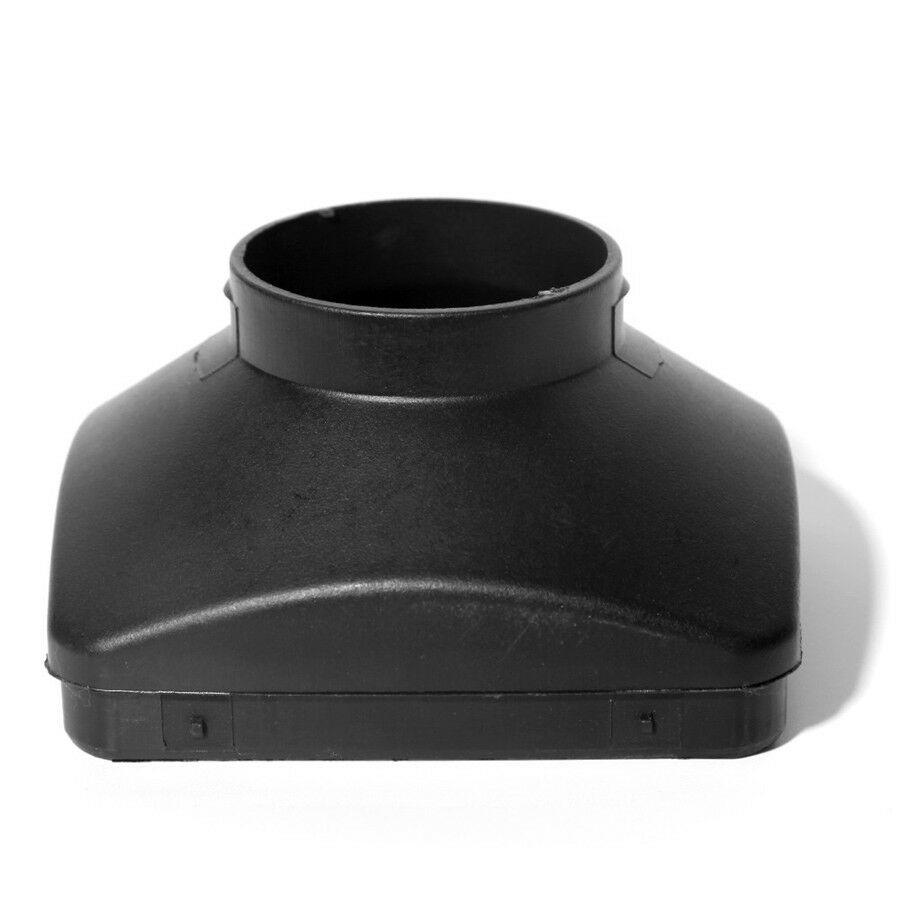 1pc 60mm Enkel Gat Outlet Cover Plastic Voor Auto Webasto Air Diesel Standkachel Vervanging Accessoire