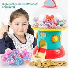 Mini Machine à bonbons avec pince à musique, Robot attrapeur de Gashapon pour enfants, Puzzle d'entraînement, jouets figurines