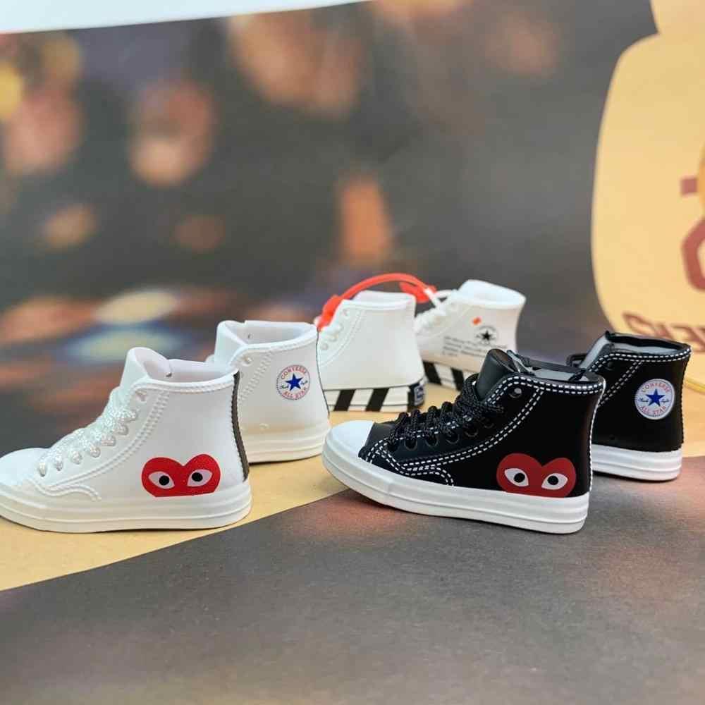 HOUZIWA BJD bebek aksesuarları Sneakers PVC bebek ayakkabıları 1/6 BJD bebek ayakkabı 5CM
