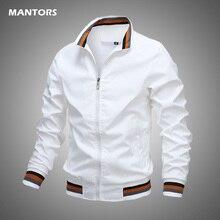 Autumn Men's Bomber Zipper Jacket Casual Streetwear Hip Hop Plain Coat 2020 Spring Mens Slim Jackets Outerwear Brand Clothing