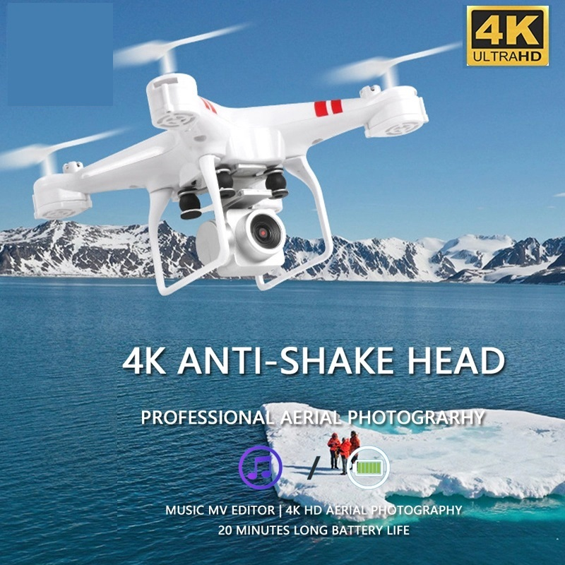 2020 NEW Drone 4k rc helicopter drone Wide-Angle WIFI Real-Time Transmission Camera HD Wifi Fpv Air Pressure Fixed Rc Drones