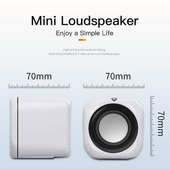 Computer Speaker A1 Deep Bass Sound Loudspeaker USB Mini Audio Speakers For Laptop Notebook Desktop PC Multimedia Loudspeakers 4