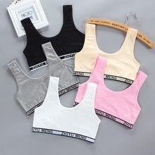 Teen Training Bra Girl Vest Underwear Kids Soft Underwear Girls Accessories Breathable Children Bras for Teen Girl 7-16years old