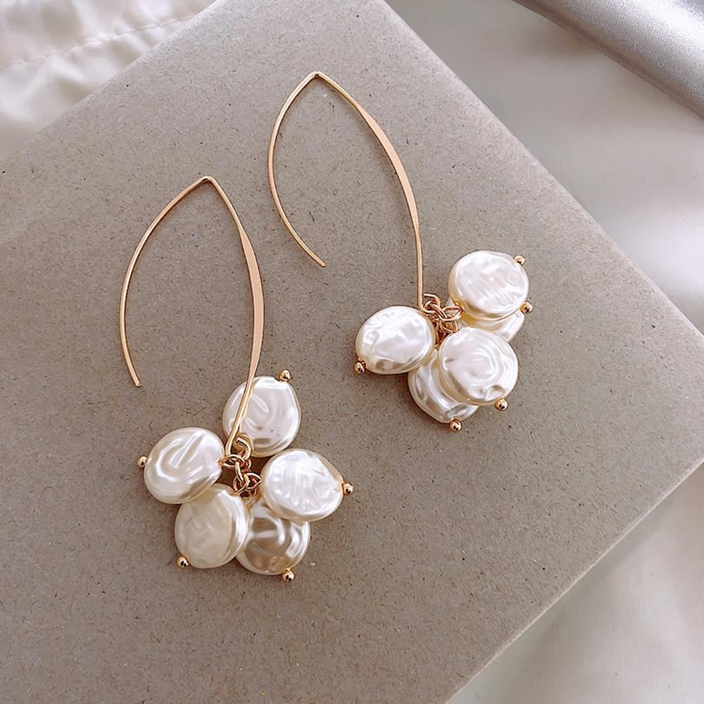 New arriver Wild Pearl Long Earrings Fashion jewelry wholesale