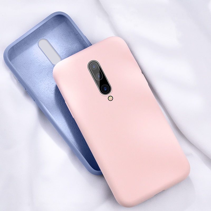 Liquid Silicone <font><b>Case</b></font> For <font><b>Oneplus</b></font> 8 7 7T 6 <font><b>6T</b></font> 5 5T Pro <font><b>Case</b></font> Luxury Original Soft Smooth Phone <font><b>Bumper</b></font> For <font><b>Oneplus</b></font> 8 7 7T 6 <font><b>6T</b></font> Pro image