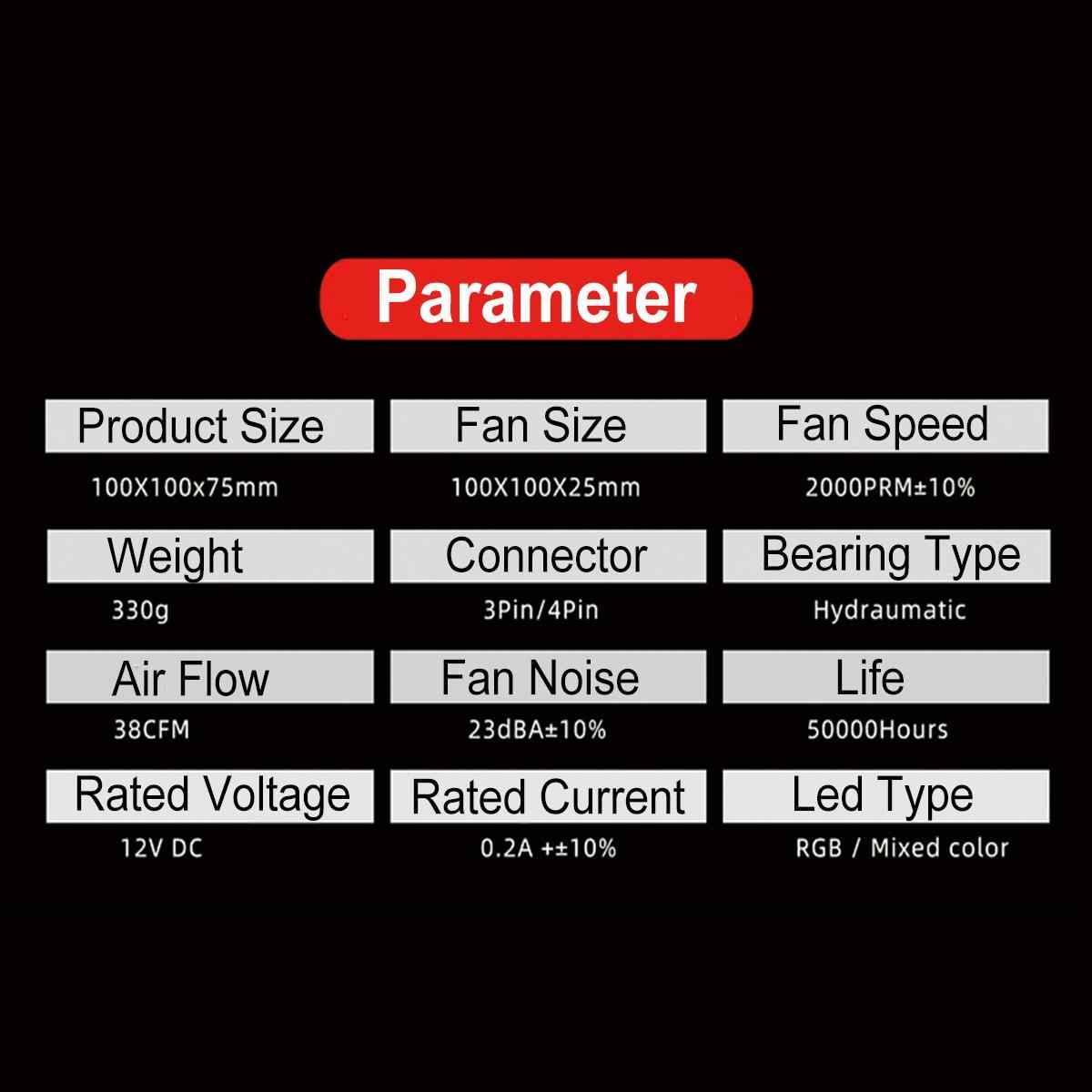 アルミ 3 ピン cpu クーラーラジエーター rgb ヒートシンクサイレント pc cpu クーラーヒートシンク冷却ファンインテル lga/115X/775/1366/AM3/AM4