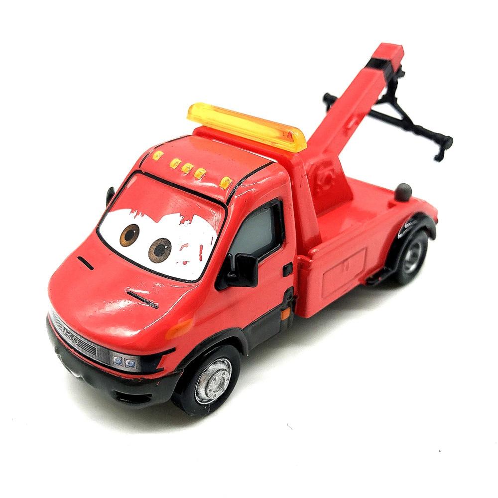 Disney Pixar Cars Towin' Eoin 1:55 Diecast Metal Alloy Toy Car Model Kids Boy Birthday Christmas Gift