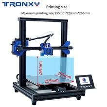 Tronxy rápido conjunto de nivelamento automático retomar a impressão de falha de energia XY-2 pro impressora 3d kits diy com tamanho de impressão 255mm * 255mm * 260mm