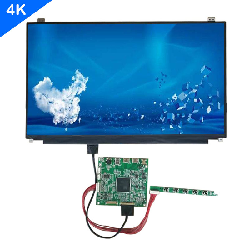 Super UHD Screen 15.6 Inch Lcd Led Display 4K Panel 3840*2160 Control Board HDMI DP USB  For Raspberry Pi 2 2B 3 3B