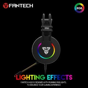 Image 3 - Słuchawki FANTECH HG23 słuchawki z mikrofonem wtyczka USB gamingowy zestaw słuchawkowy i Ac3001 stojak na słuchawki dla najlepszego odtwarzacza gier PUBG LOL FPS