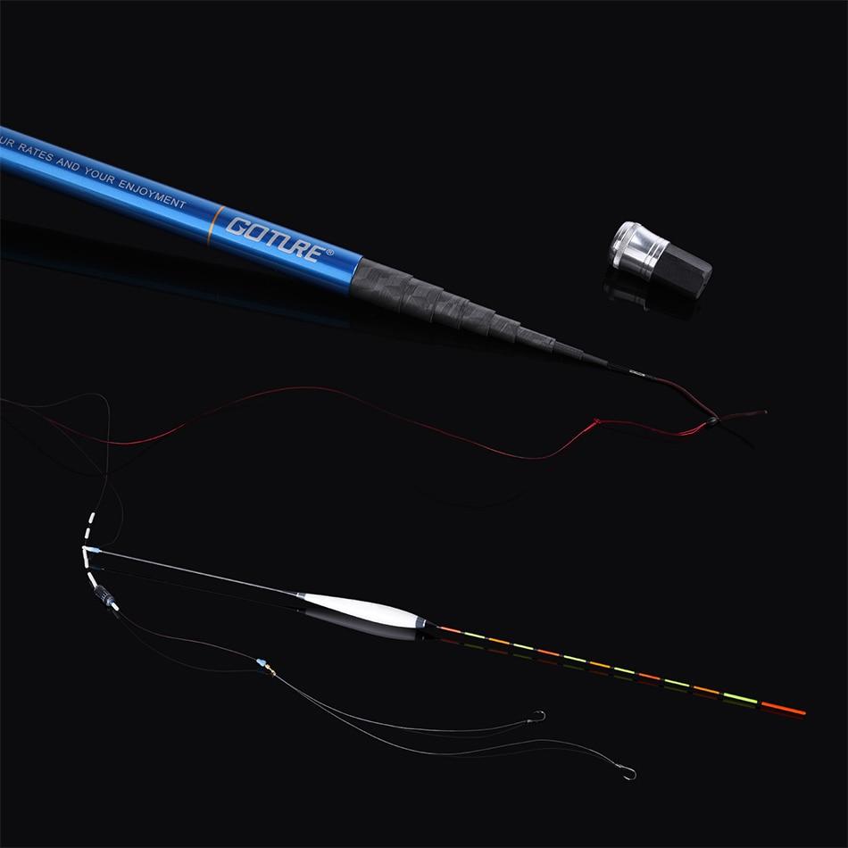 Image 5 - Goture Zealot Telescopic Fishing Rod Carbon Fiber 24T+30T 2.7 7.5M Carp Fishing Rod 2/8 Action Hard Hand Pole Stream Feeder RodFishing Rods   -