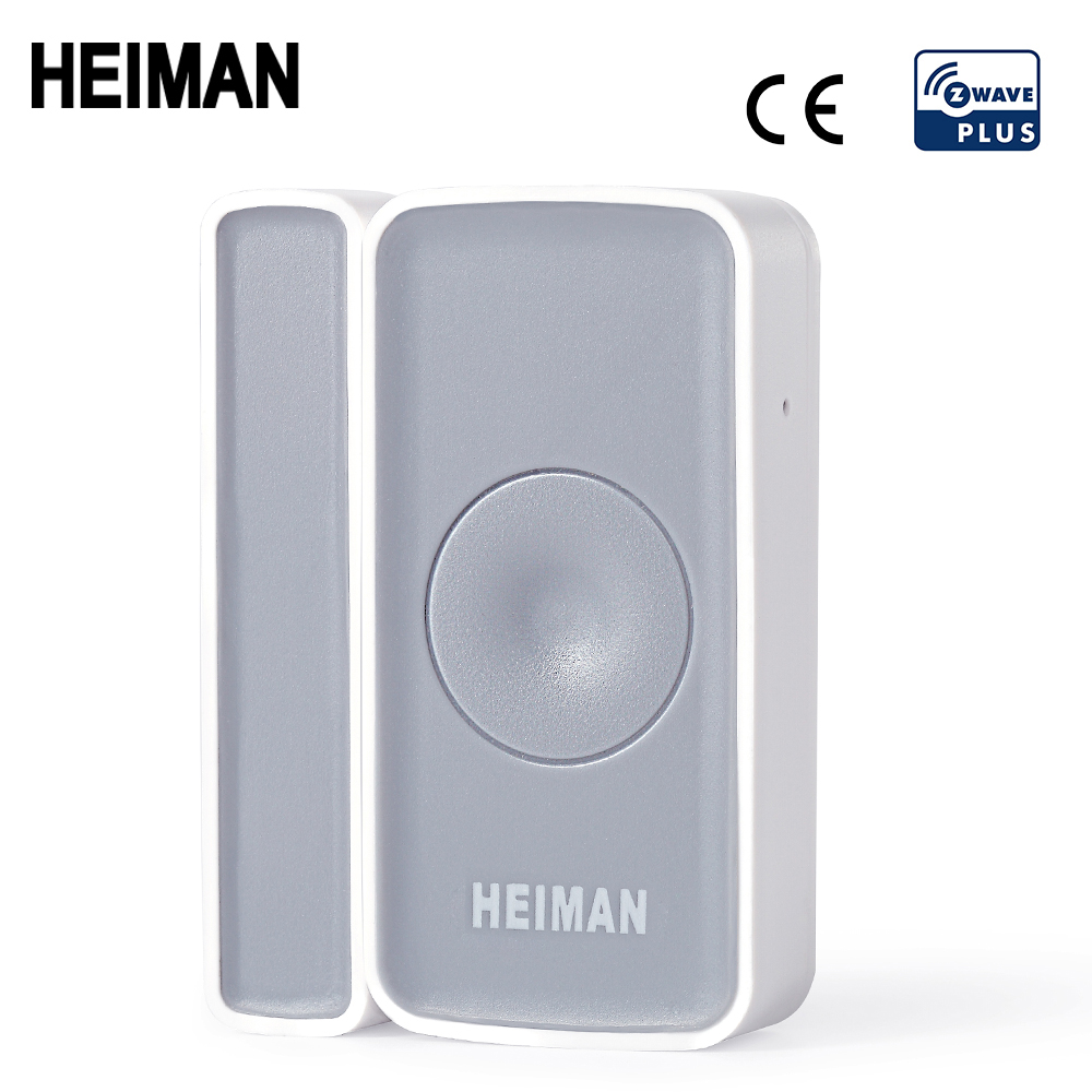 HEIMAN Z-wave Door Window Zwave Sensor Magnet Detector Alarm Wireless For Z Wave Home  EU868MHz