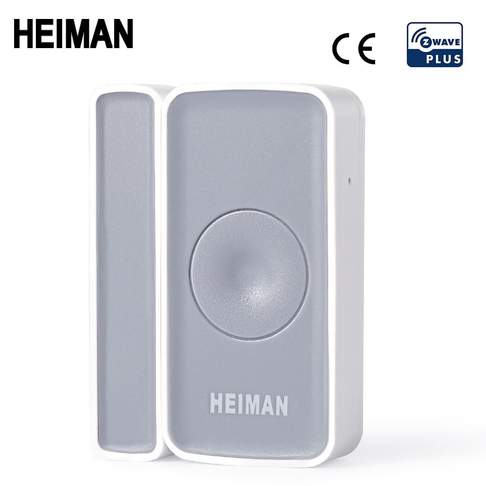 HEIMAN Z-wave Door Window Zwave Sensor Magnet Detector Alarm Wireless For Z Wave Home  EU868MHz