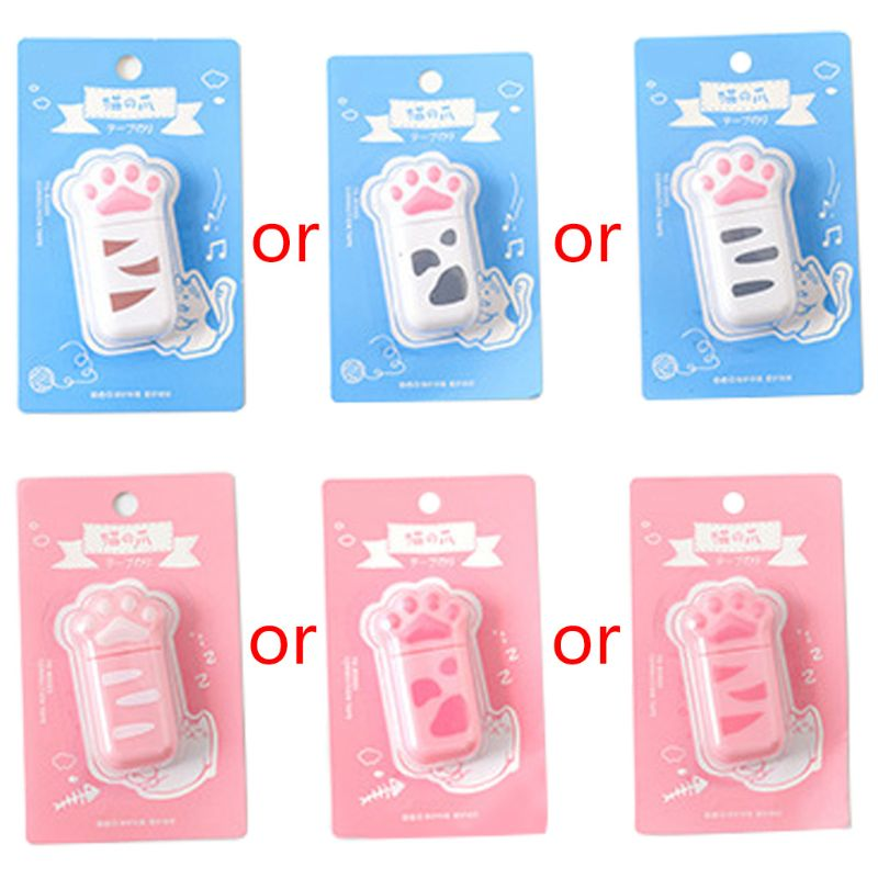 Cat Claw Portable Correction Tape Gift Stationery Student School Office Supply