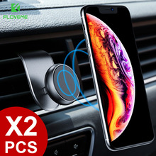 FLOVEME Magnetic Car Phone Holder For iPhone Xiaomi Mobile In 360 Rotation Universal Mount Stand Support