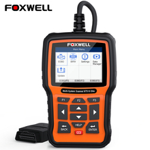 OBD2 Automotive Scanner Newest Foxwell NT510 Elite Car Diagnostic Tool OBDII OBD 2 Diagnosis For Peugeot Citroen Renault Nissan