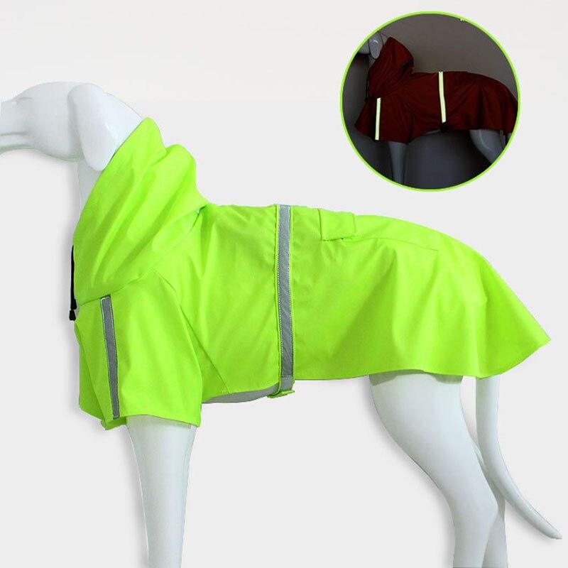 Waterproof Dog Raincoat with Hood Transparent Pet Dog Puppy Rain Coat Cloak Costumes Clothes For Dogs Pet Supplies