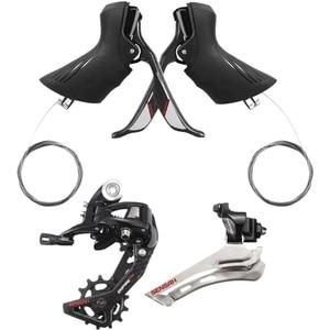 Image 5 - SENSAH אימפריה פרו סיבי פחמן 2x12 מהירות כביש אופני קלטות 12 s שרשרות Groupset, עבור derailieur 5800 R7000 6800