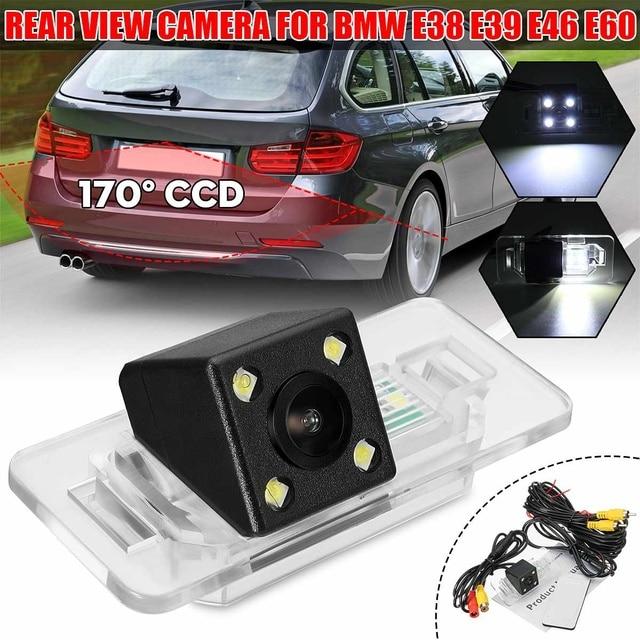 Vista traseira do carro invertendo câmera para bmw câmera de backup para bmw 3 série 5 x5 x6 e39 e46 e60 e90