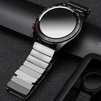 Ceramic Wrist Straps For Huawei Watch GT/GT2 2 46MM 46MM Smart Watch Band 20MM 22MM Watch Band For Samsung Galaxy 42mm 46mm S3