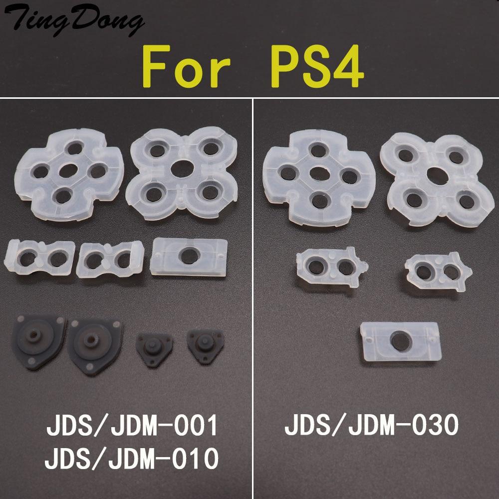 TingDong силиконовый Кондуктивный резиновый клейкий кнопочный коврик для sony playstation DualShock 4 PS4 Pro Slim контроллер геймпад Запасные части      АлиЭкспресс