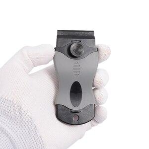 Image 4 - FOSHIO גילוח מגרד + 10PCS פלסטיק להבי רכב ויניל סרט לעטוף כלי חלון גוון מגב מדבקת דבק מסיר ביתי ניקוי