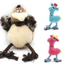 Kształt ptaka dla psa do gryzienia węzeł zabawki dla małych średnich psów skrzypiąca zabawka dla szczeniąt trwałość psy zaopatrzenie dla zwierząt domowych czyszczenie zębów zabawka dla psa