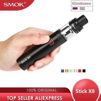 Kit de bolígraf vapeur SMOK Stick X8 original amb bateria 3000mah i 4ml / 2ml TFV8 X-Baby Tank Vs Stick V9 Max / Stick v8 / Wand Kit / Nord