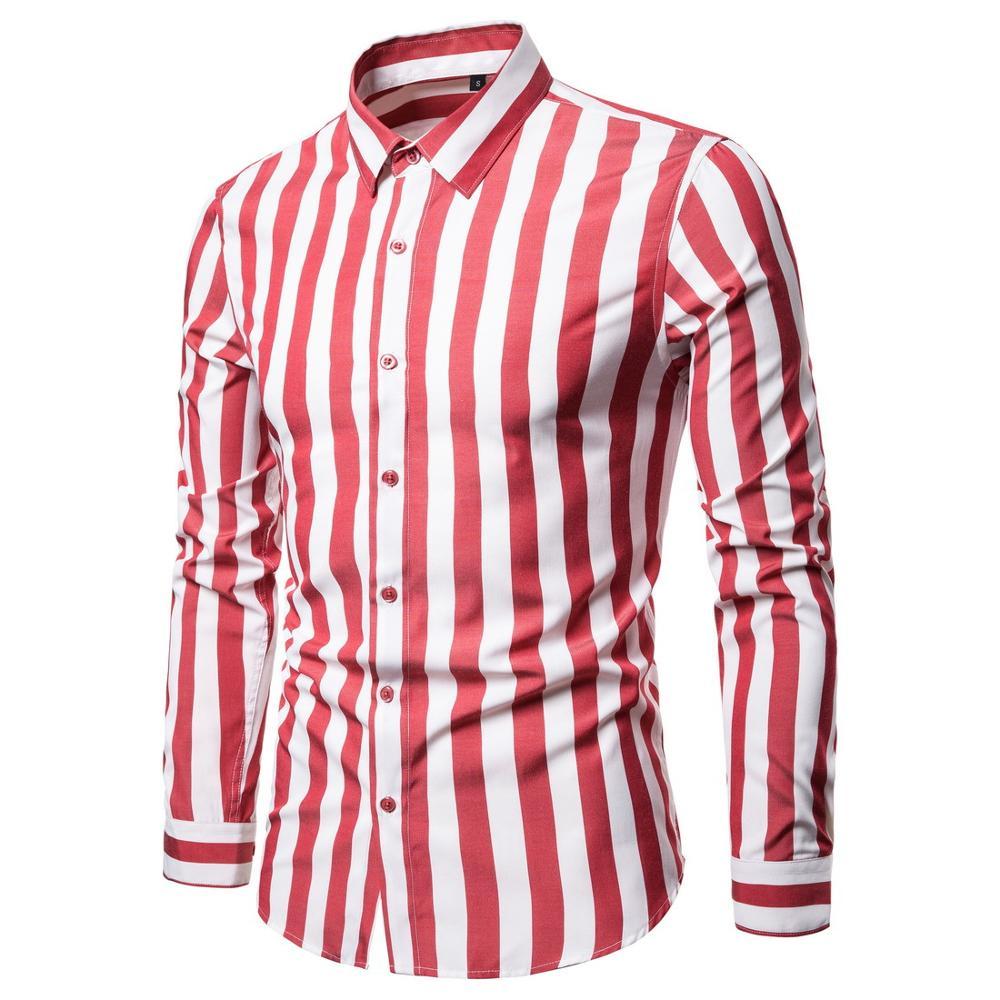 Shirts men New Thin Breathable Man Shirts Long Sleeve Slim Men's Shirts Summer 2020