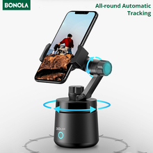 Bonola 360°All-round Automatic Tracking Smart Gimbal for iPhone 12S/12 Pro Max /11 Samsung  Xiaomi mi Face Tracking Selfie Stick
