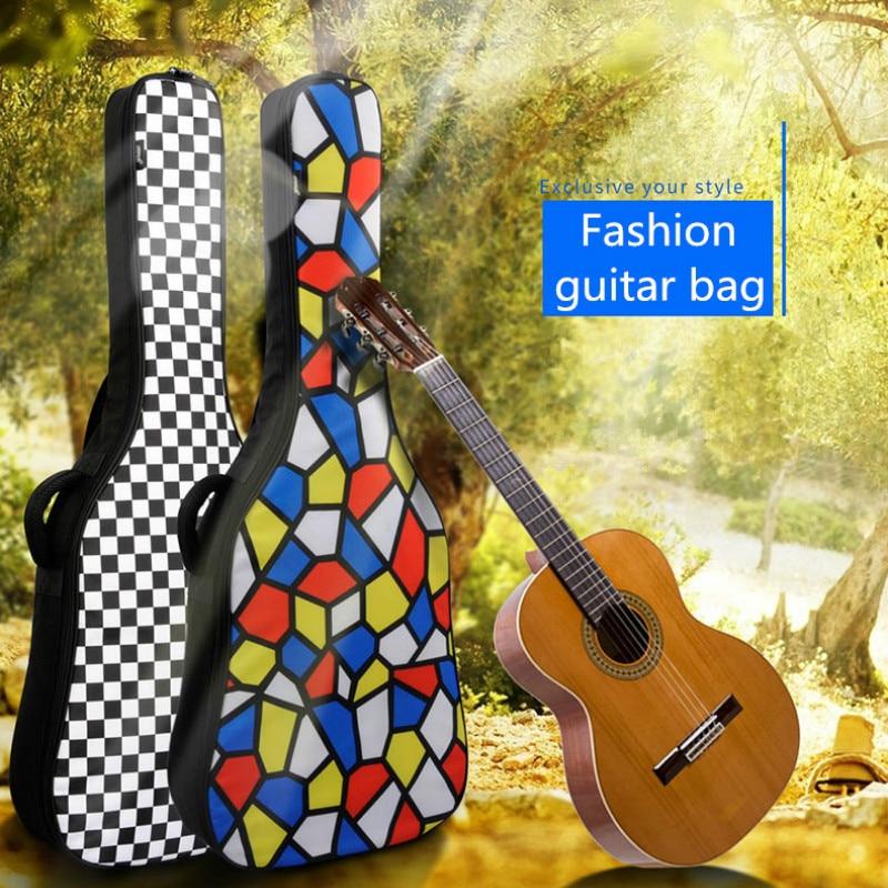 Épaissir étanche Folk aplatir Balladry acoustique classique 40 41 guitare sac Case sac à dos accessoires porter Gig mode Rock