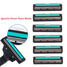 Razor-Blade Safety-Handle Shaver Standard-Trimmer-Replacement 6pcs 2-Layer