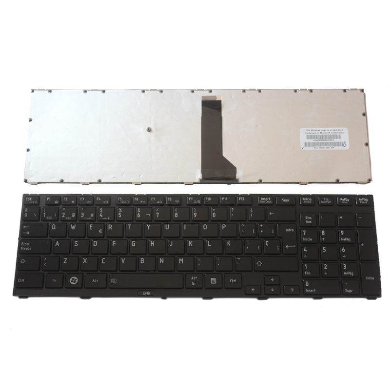SP Keyboard FOR TOSHIBA FOR Tecra R850 R950 R960 Spanish Laptop Keyboard