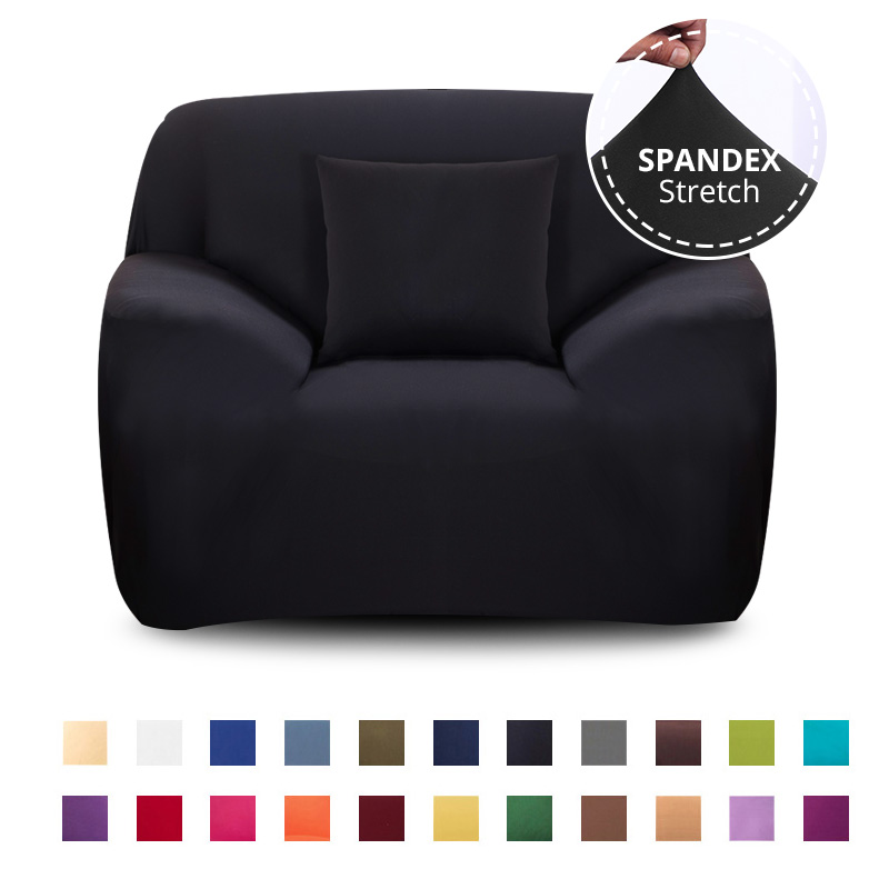 Растягивающийся чехол для кресла, дивана, гостиной, 1 сиденье, дивана, чехол, одноместная мебель, чехол для кресла, эластичный|Чехлы для диванов|   | АлиЭкспресс