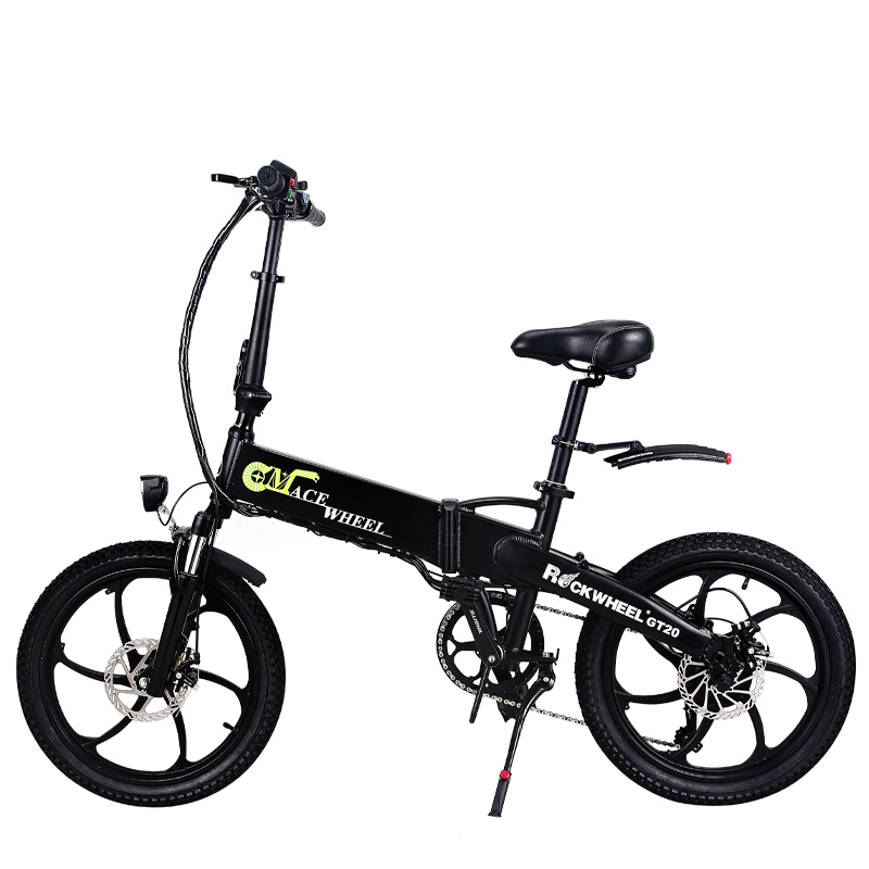 Folding bike Aluminum Electric electric Bicycle 20inch 400W Powerful Mottor 48V10A Battery 32km/h Mountain e bike city/Snow bike 3