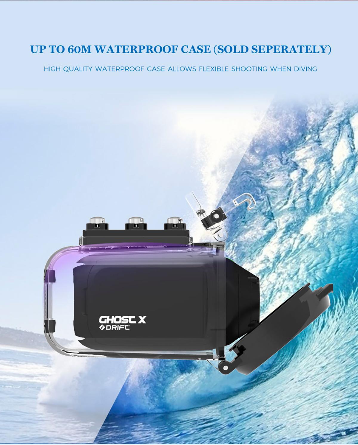 Cámara Cam fantasma X Plus MC 1080P 8