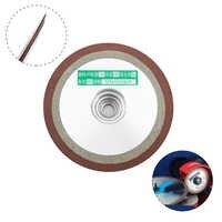 125mm Diamond Disc Resin Bond diamond Grinding Wheel For Grinder Tungsten Steel Milling Cutter Tool Sharpener 150/240/320Grit