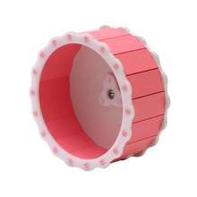 Small Pets Hamster Exercise Wheel Silent Roller Guinea Pig Mouse Running Sports Animals Pet Toy Supplies