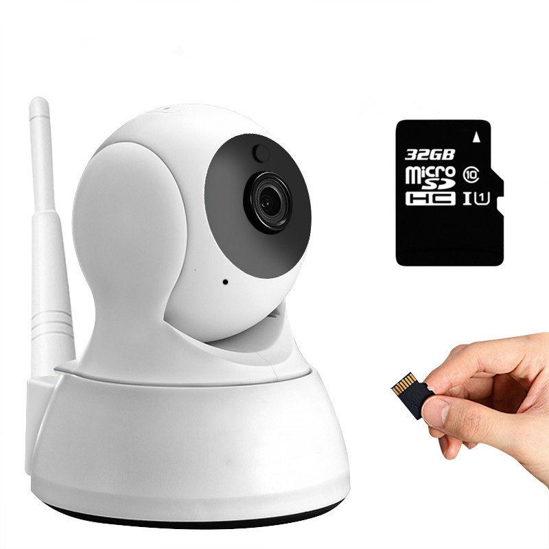 HD 720P Smart Home Wifi IP Camera Wireless Indoor Security CCTV Camera Two Way Audio Baby Monitor Motion Detection Night Vision