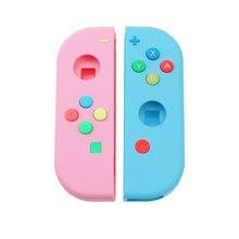 Сменный корпус, жесткий чехол, чехол для контроллера Nintendo Switch NS Joy Con, чехол с зеленой лицевой панелью для joycon, 1 комплект